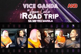 Vice Ganda at Anne Curtis, nag-road trip sa Metro Manila