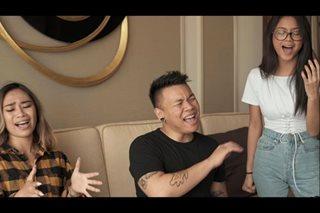 WATCH: Jessica Sanchez belts out karaoke hits with Ylona, AJ Rafael