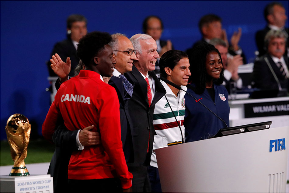 Canada-Mexico to host World Cup 2026