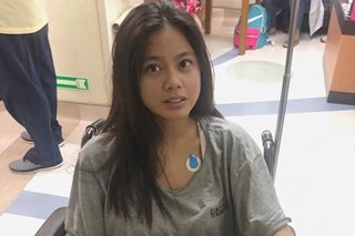 Hospitalized Ylona urges fans to be 'aware of their mental health'