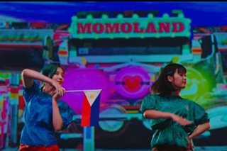 LOOK: PH flag, jeepney featured in new Momoland video
