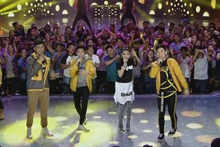 Sarah teams up with Darren, Jeremy and Kyle for 'ASAP' number