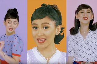 WATCH: Sarah G goes retro for 'Miss Granny' music video