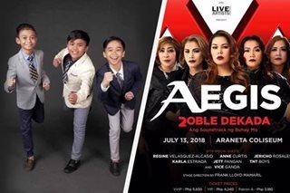 TNT Boys, kasama sa Araneta concert ng Aegis