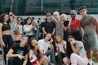 Bailey May back in Manila with other members of Now United
