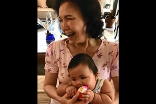 WATCH: Pauleen Luna's adorable baby with her 'mimi' Helen Gamboa