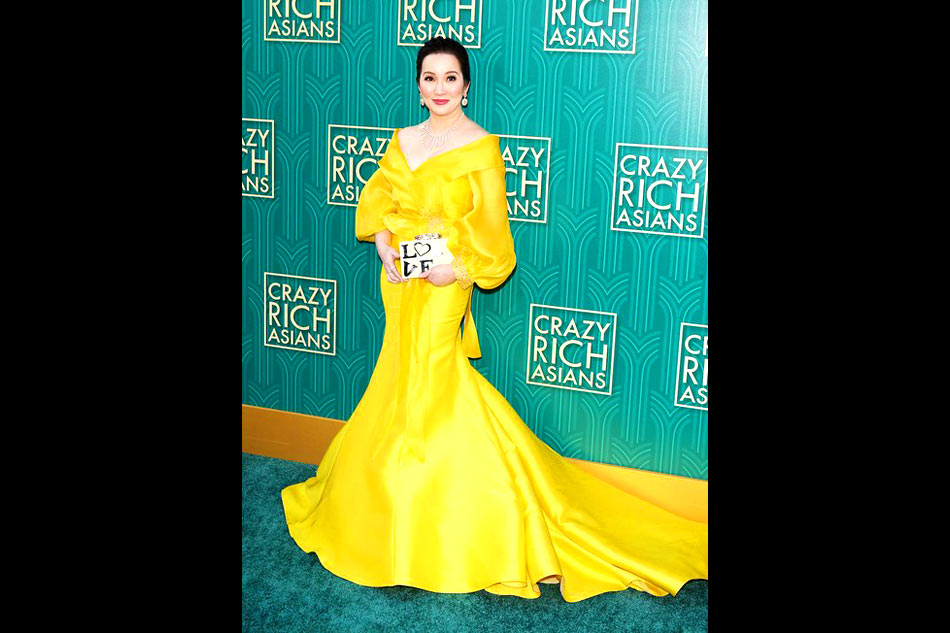 Vanity Fair raves about Kris Aquino\'s look at \'Crazy Rich Asians ...