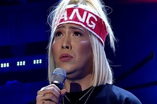Real or acting? Vice Ganda sings 'Almost Over You,' teased over tearing up