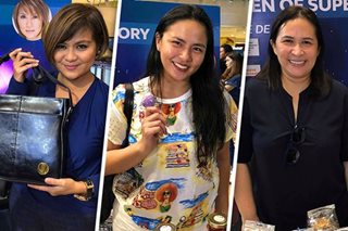 Ilang artista, ibinida ang home-made products sa Star Bazaar