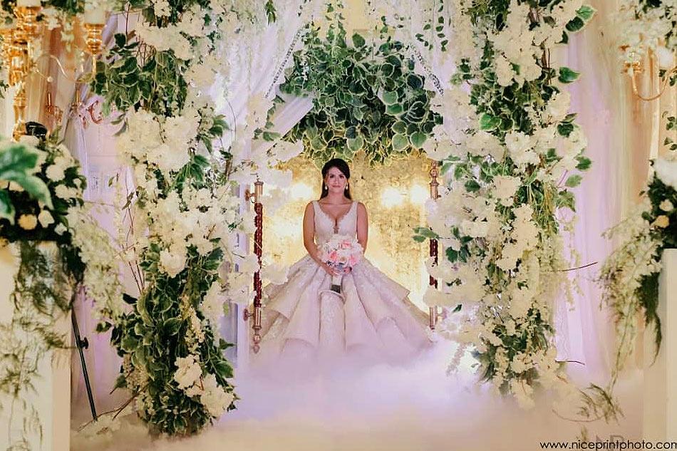 Photos Jaycee Parker Glows In Fairy Tale Wedding Abs Cbn News