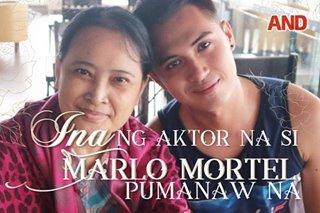 Ina ng aktor na si Marlo Mortel, pumanaw na