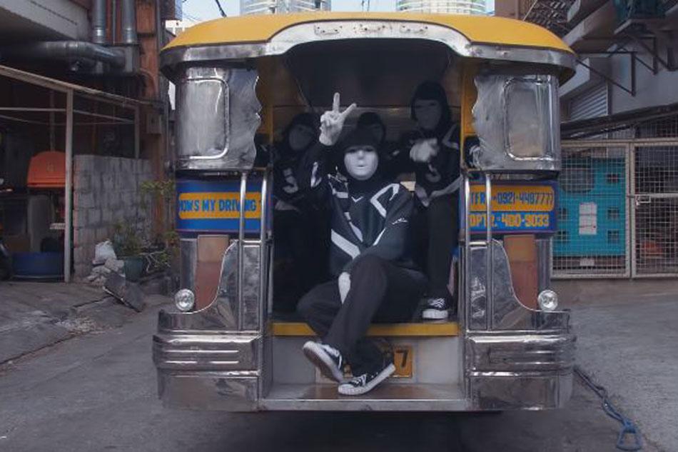 WATCH: Jabbawockeez member dances on top of a jeepney in 'thank you