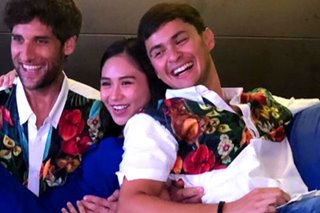 LOOK: Sweet moments between Sarah, Matteo at dinner party