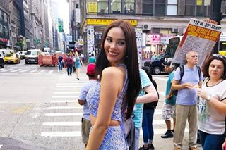 Is it a sign? Miss Universe sponsor gets Catriona for New York Fashion Week
