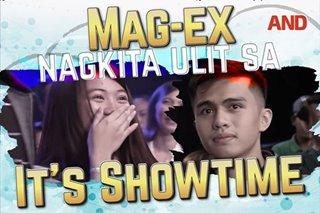 Mag-ex, nagkita ulit sa It's Showtime