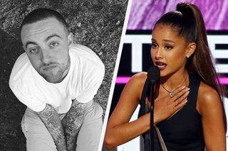 'Sorry can't take your pain away': Ariana Grande pays tribute to ex-beau Mac Miller