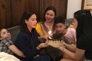 Erich Gonzales gets advance birthday surprise