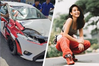 'My car flipped 4 times': Chie Filomeno unhurt after crash