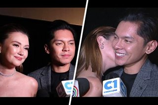 Angelica surprises Carlo with kiss at 'Exes Baggage' premiere