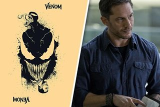 LOOK: Tom Hardy picks favorite 'Venom' art from Pinoy artists