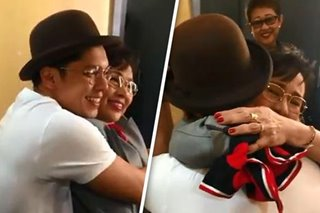 WATCH: Carlo Aquino, Vilma Santos shout iconic lines in reunion