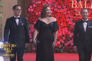 First on the red carpet: Network bosses open ABS-CBN Ball 2018