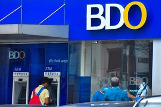 BDO to conduct system maintenance on Sunday
