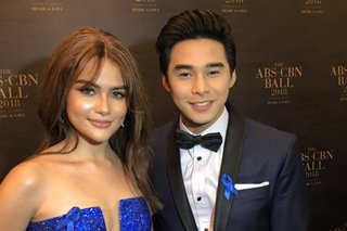 Nagkabalikan? Mccoy at Elisse, together again sa ABS-CBN Ball