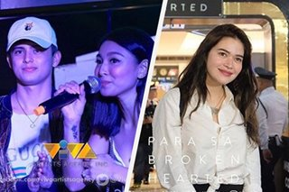 James, Nadine at Bela, spotted sa red carpet premiere ng 'Para sa Broken Hearted'