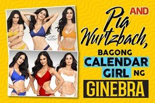 Pia Wurtzbach, bagong calendar girl ng Ginebra