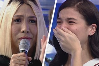 WATCH: Tears flow on 'Showtime' as Anne Curtis looks forward to motherhood