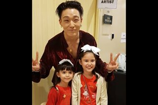 Aww! Scarlett Kramer finally meets 'Uncle Bobby' of iKON