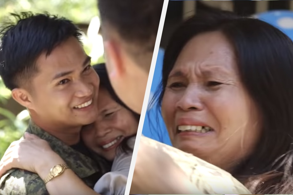 'Bumuhos luha ko': 10 heartwarming, heartbreaking reactions to soldier sons' #FamilyIsLove story