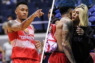 Calvin Abueva winked at Vice Ganda after scoring point, Ryan Bang insists