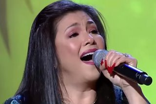 WATCH: Regine soars with new take on 'On the Wings of Love'