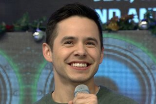 'American Idol' runner-up David Archuleta performs on 'Showtime'