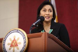 Robredo backs calls to file case vs contractor in DFA passport data mess