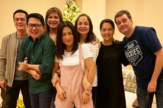 Aga Muhlach noticeably absent in 'Bagets' Christmas reunion photo