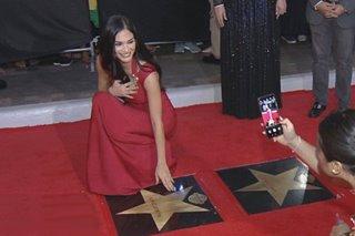 Pia Wurtzbach, ginawaran ng 'Walk of Fame' Award