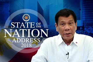 President Duterte's 2nd year report