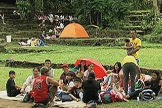 QC Circle, La Mesa Eco Park, dinagsa sa Bagong Taon