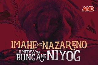 Imahe ng Nazareno, lumitaw sa bunga ng niyog
