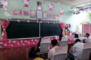 Kawaii! Iligan kids study in this Hello Kitty classroom