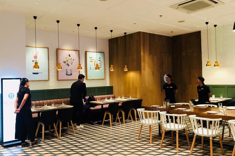 Sneak Peek Bench Cafe S Glamorized Turo Turo Menu Abs