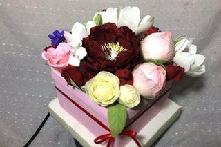 TINGNAN: 'Bulaklak' na nakakain, puwedeng panregalo sa Valentine's