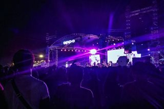 OPPO celebrates a night of OPM with fans at UP Fair