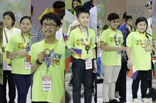 PH students win 87 medals in Thailand math contest