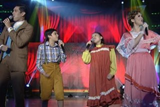 'Chitty Chitty Bang Bang' cast, nagpasikat sa 'Showtime'