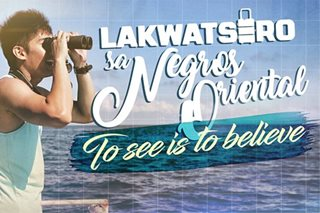 Lakwatsero sa Negros Oriental: To see is to believe