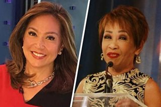 Karen Davila, Doris Bigornia honored for work in broadcast news